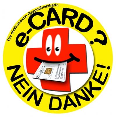 E-Card - Nein Danke!
